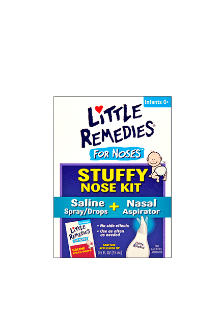 Little Remedies® for Noses™ Stuffy Nose Kit