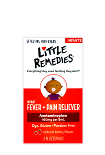 Little Remedies® for Fevers™ Infant Fever/Pain Reliever