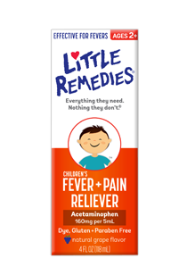 Little Remedies® Children's Fever/Pain Reliever