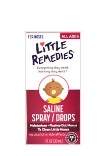 Little Remedies® Saline Spray/Drops