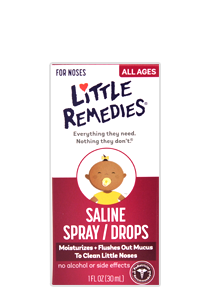 Little Remedies© Saline Spray/Drops